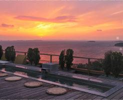 蒲郡温泉ランキング①天空露天風呂から絶景三河湾を眺める「天空海遊の宿 末広」