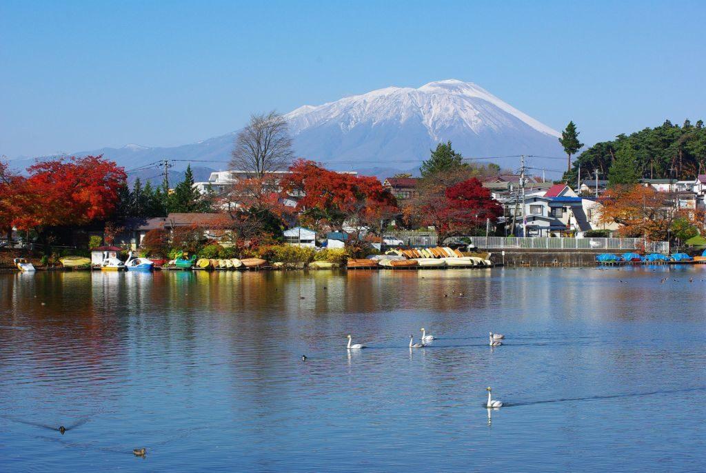 盛岡パワースポットランキング④「日本桜の名所100選」に選ばれた「高松の池」「高松公園」