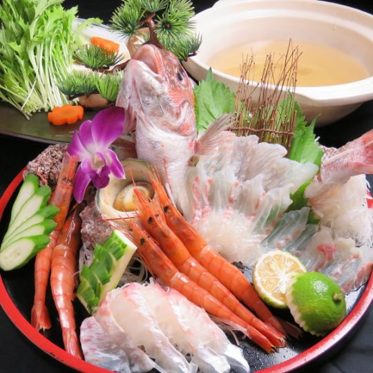 熊本県鍋料理ランキング②魚介が新鮮すぎる~!海鮮しゃぶしゃぶ~!「旬彩 菜々つ星」