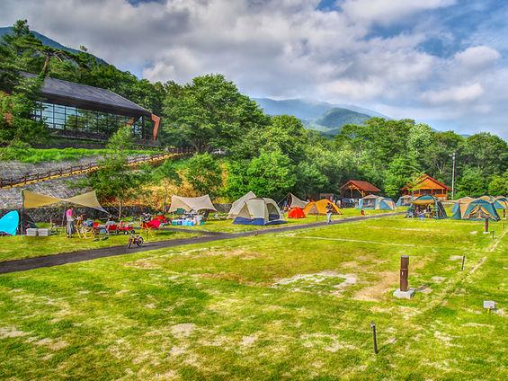 岩手県キャンプ場ランキング⑧温泉も楽しめる、手ぶらでOKのキャンプ場「休暇村 岩手網張温泉キャンプ場」