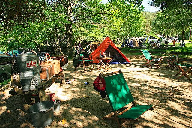 大阪のキャンプ場ランキング⑨夏は涼しくシンプルに!「長野公園天野山キャンプ場」