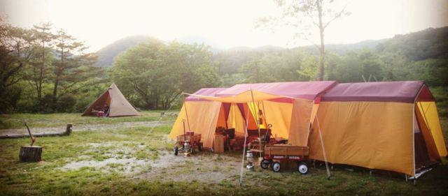 岩手県花巻のキャンプ場ランキング⑦手作りのアットホームなキャンプ場「キャンプグランド ベアーベル」